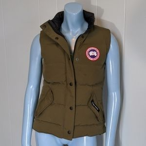 Canada Goose Jackets & Coats - Canada Goose Army Green Vest